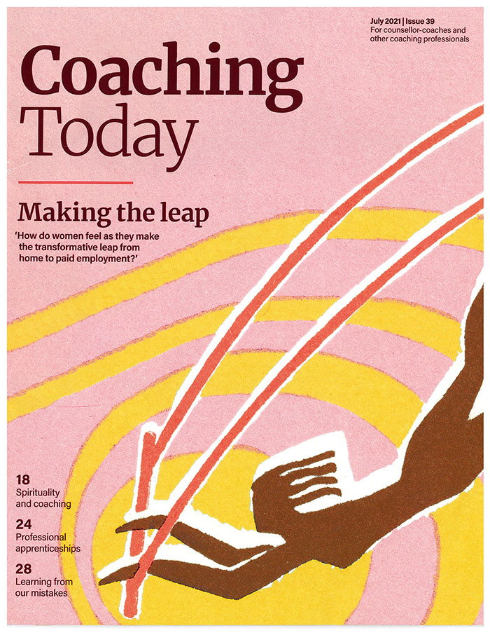Coaching today magazine cover